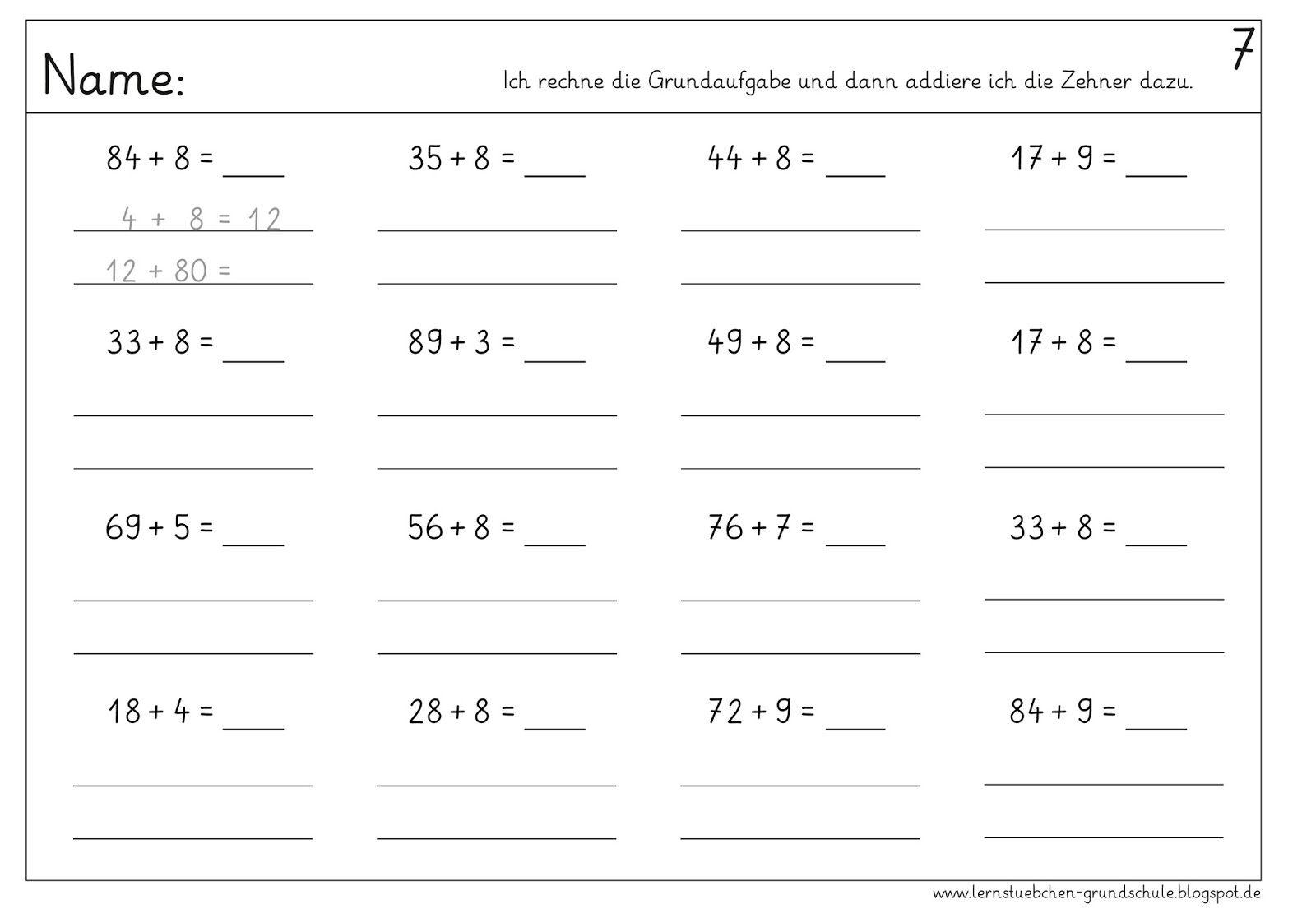 20 Addition Und Subtraktionswort Probleme Arbeitsblatter