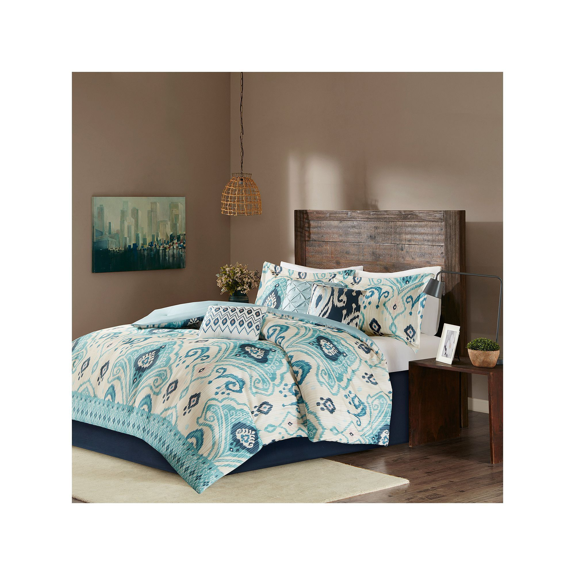 Madison Park 6 Piece Sabina Duvet Cover Set