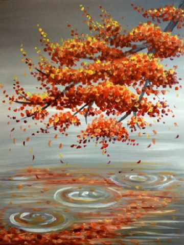 Fall Painting Paint Night Painting Acrylic Art Art