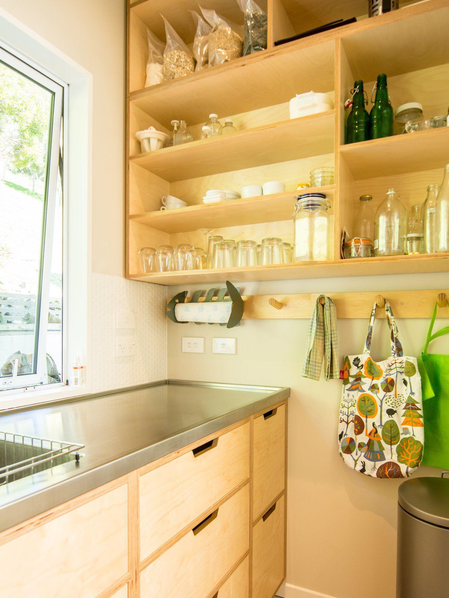 Best Davies Drive Plywood Kitchen Diy Kitchen Concrete Kitchen 640 x 480