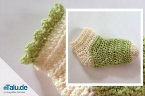 Babysocken Selbst Häkeln Anleitung Anleitungen Crochet Baby