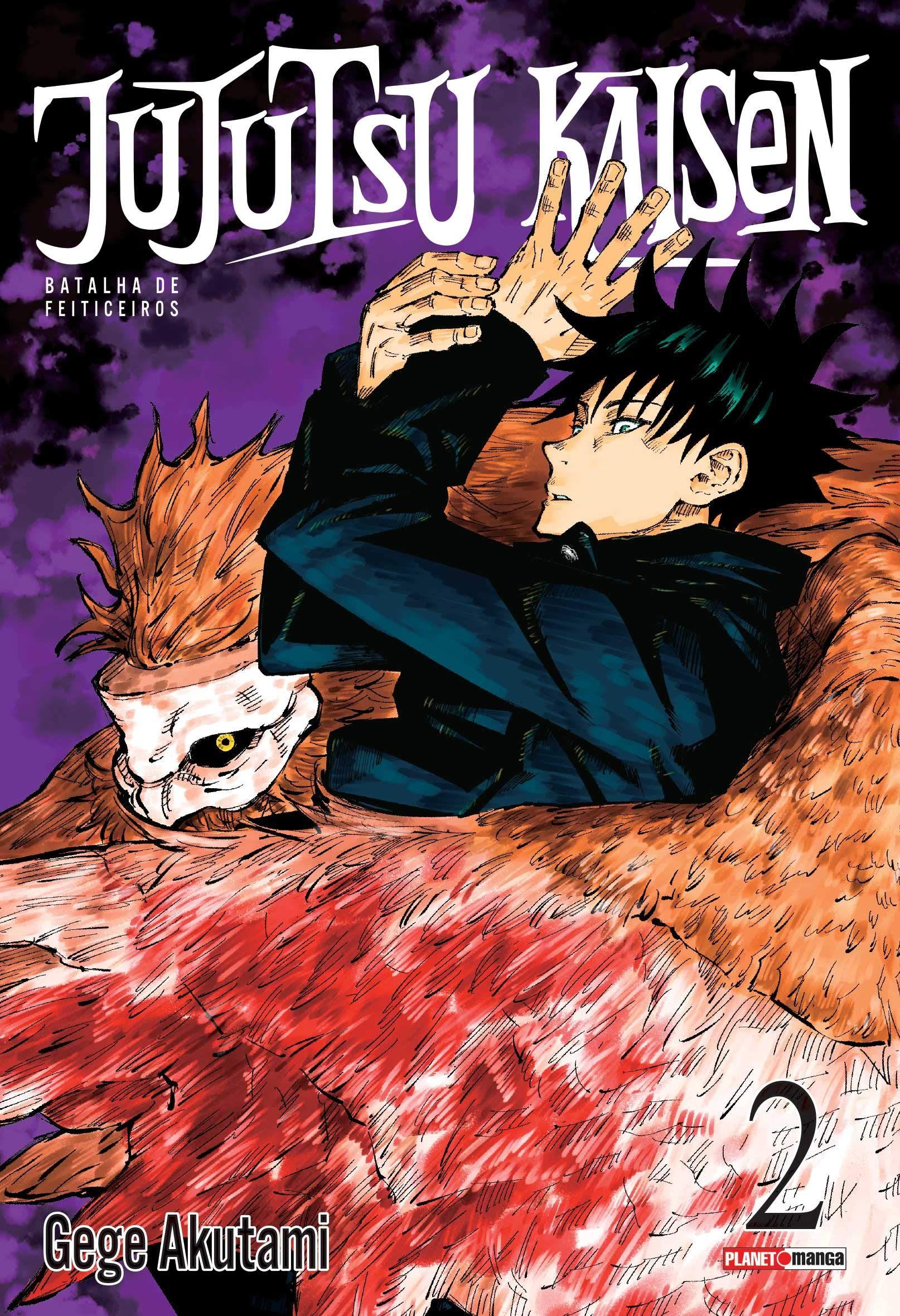 Jujutsu Kaisen Batalha De Feiticeiros Vol 2 Capa Comum Frete Gratis No Prime Anime Printables Manga Covers Jujutsu