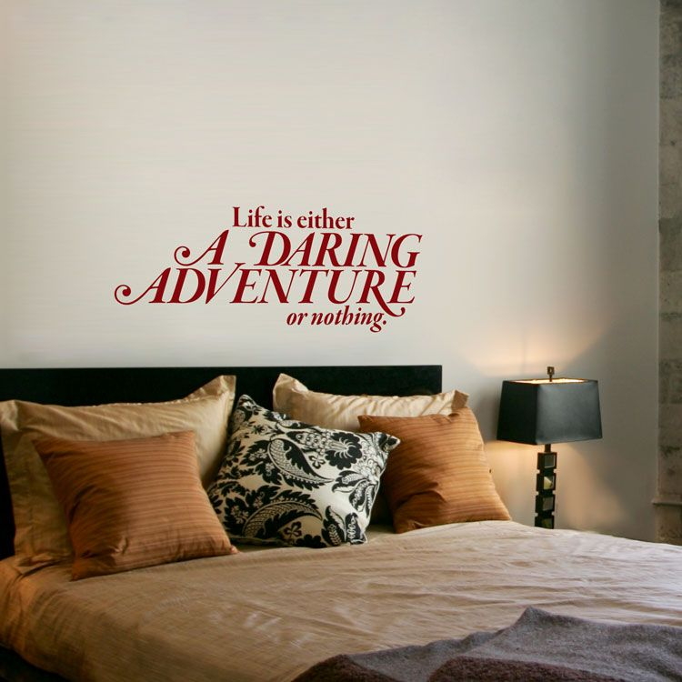 Remember to go for it with this adventurous reminder from dali decals add a beautiful wall decal accent to your home office or apartment