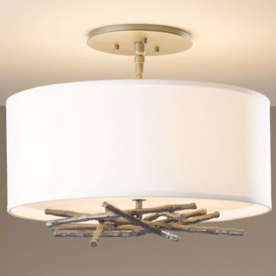 Brindille Semi-Flushmount by Hubbardton Forge available at lumens
