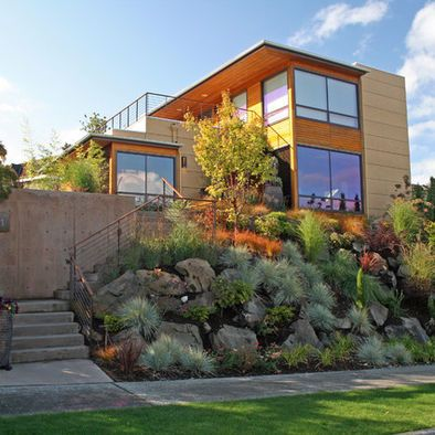 Residential Landscaping Design Ideas That Will Inspire You Hillside Landscaping Modern Landscaping Landscape Design