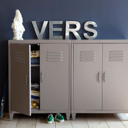 Top Armoire Locker en métal – AM-PM La Redoute | Relooker  LH62