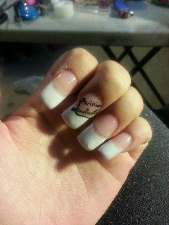 Louboutin manicure