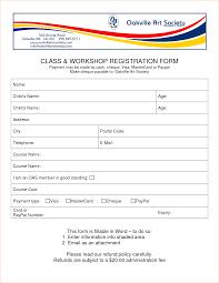Image Result For Coaching Registration Form Word Template Registration Form Word Form