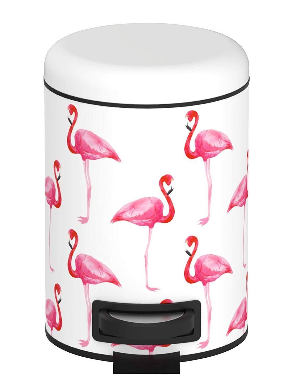Wenko Kosmetik Treteimer Flamingo Kosmetikeimer Mulleimer Mit Tretmechanismus Der Kosmetikeimer Flamingo Aus Stahl Ist E Flamingo Kosmetikeimer Abfalleimer