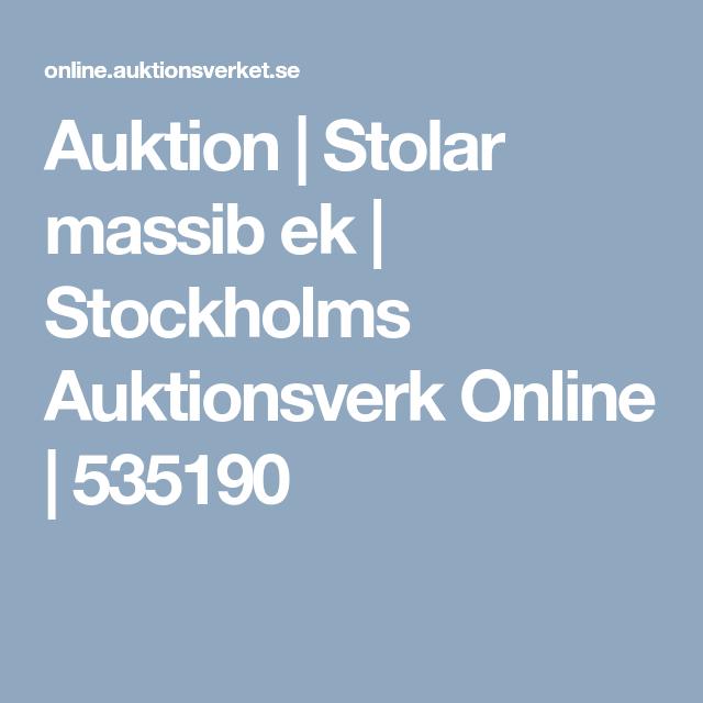 Auktion | Matgrupp ek | Stockholms Auktionsverk Online | 664827