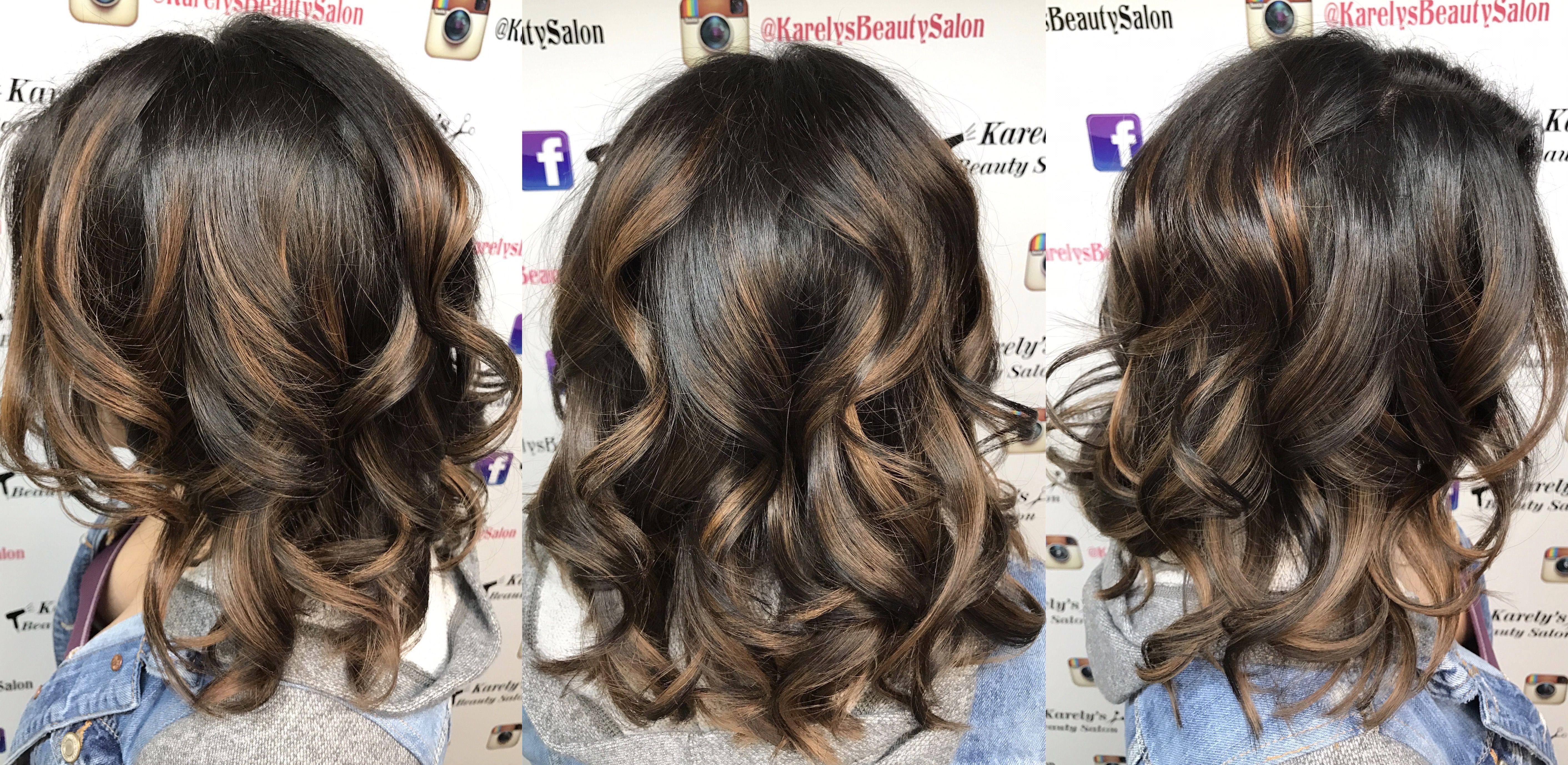 Cool tone caramel balayage hair color u styles pinterest