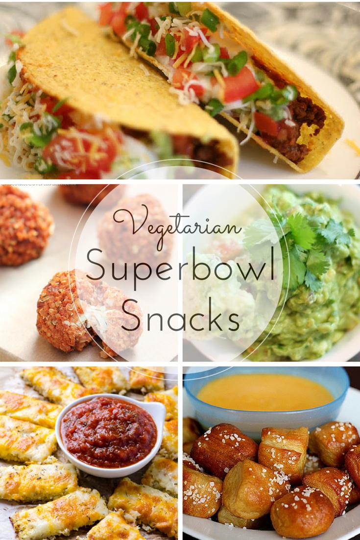 Vegetarian Superbowl Snacks Footnotes and Finds