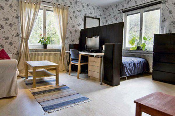 Innenausstattung wohnung beispiele  Einzimmerwohnung einrichten - tolle und praktische ...