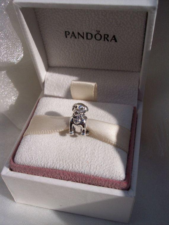 eb00c30bd Pandora, Labrador Puppy, Bracelet Charm, Man's Best Friend, Loyal ...
