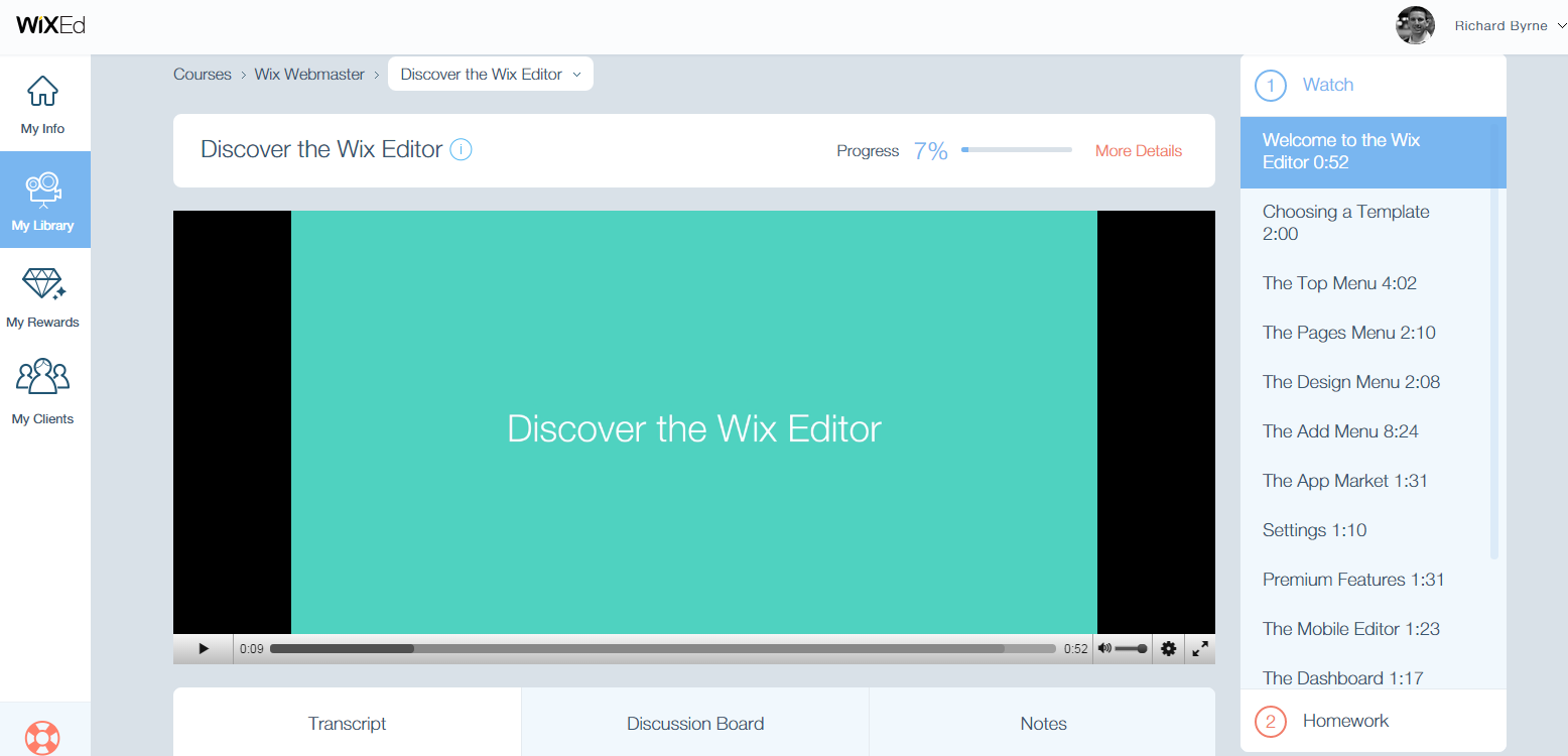 WixED Teaches You How to Build a Website...on Wix Free