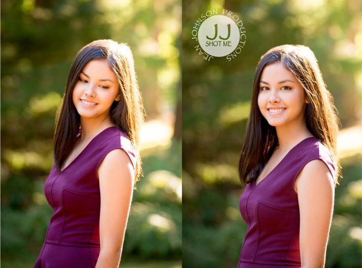 Close Up High School Senior Shots   Jean Johnson Productions   www