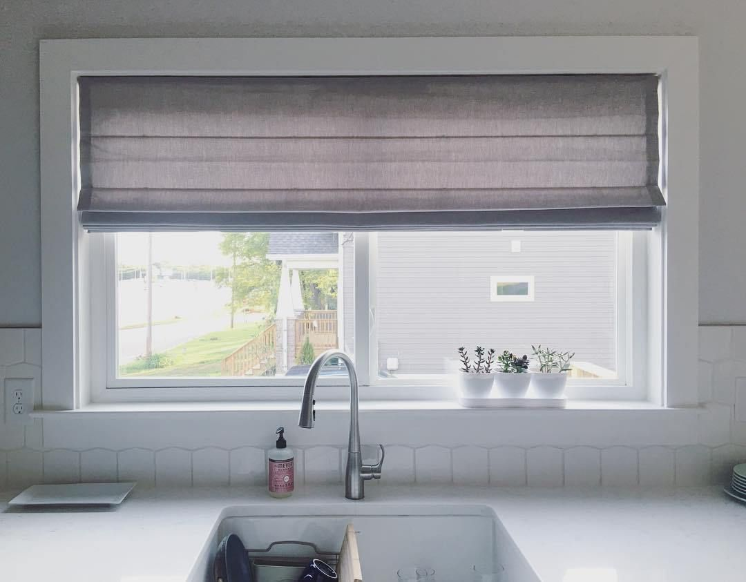 Over Kitchen Sink Window Treatment