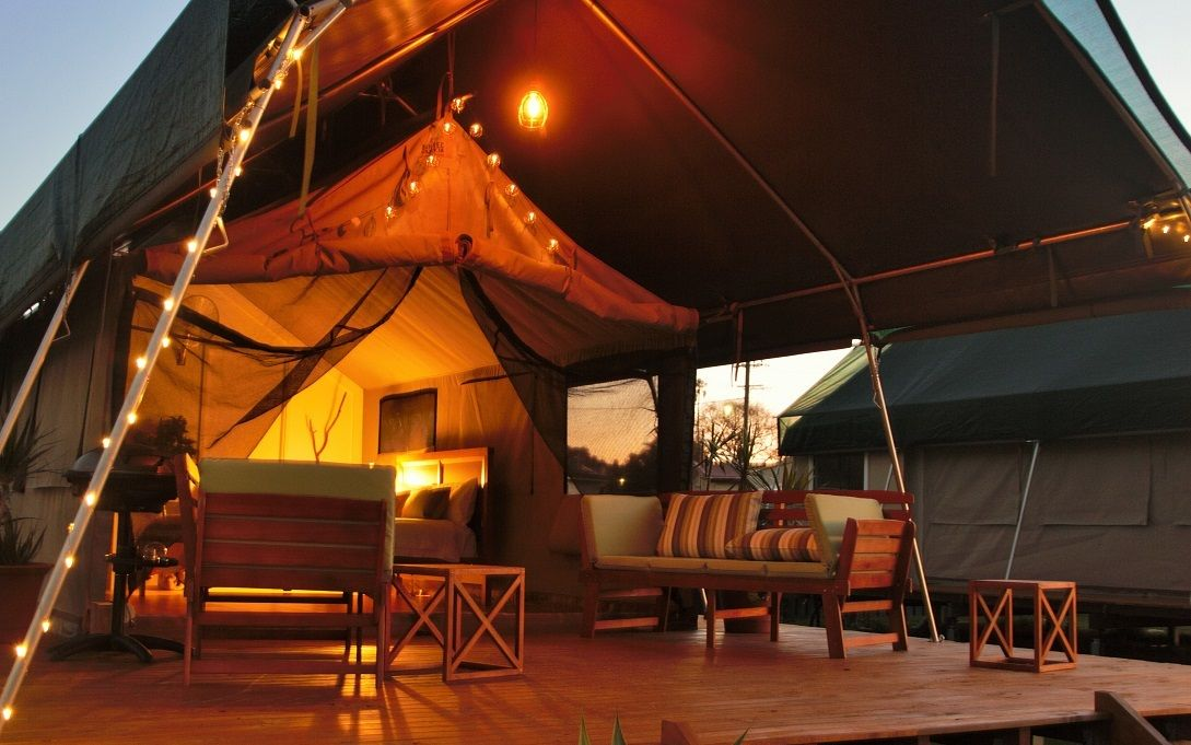Unique Luxury Safari Tent Rentals with Private Balcony on Greenwell Point New South Wales & Pin by Green Getaways Australia on Best Glamping Escapes in ...
