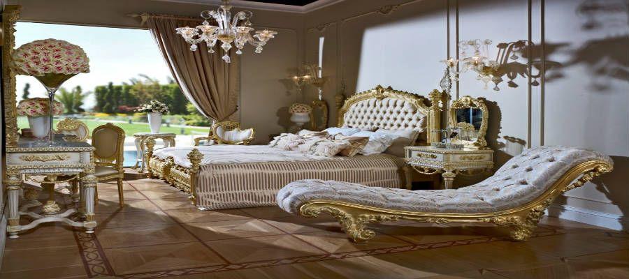 Klasik Yatak Odasi Takimlari Seri Uretimlerin Bir Parcasidir