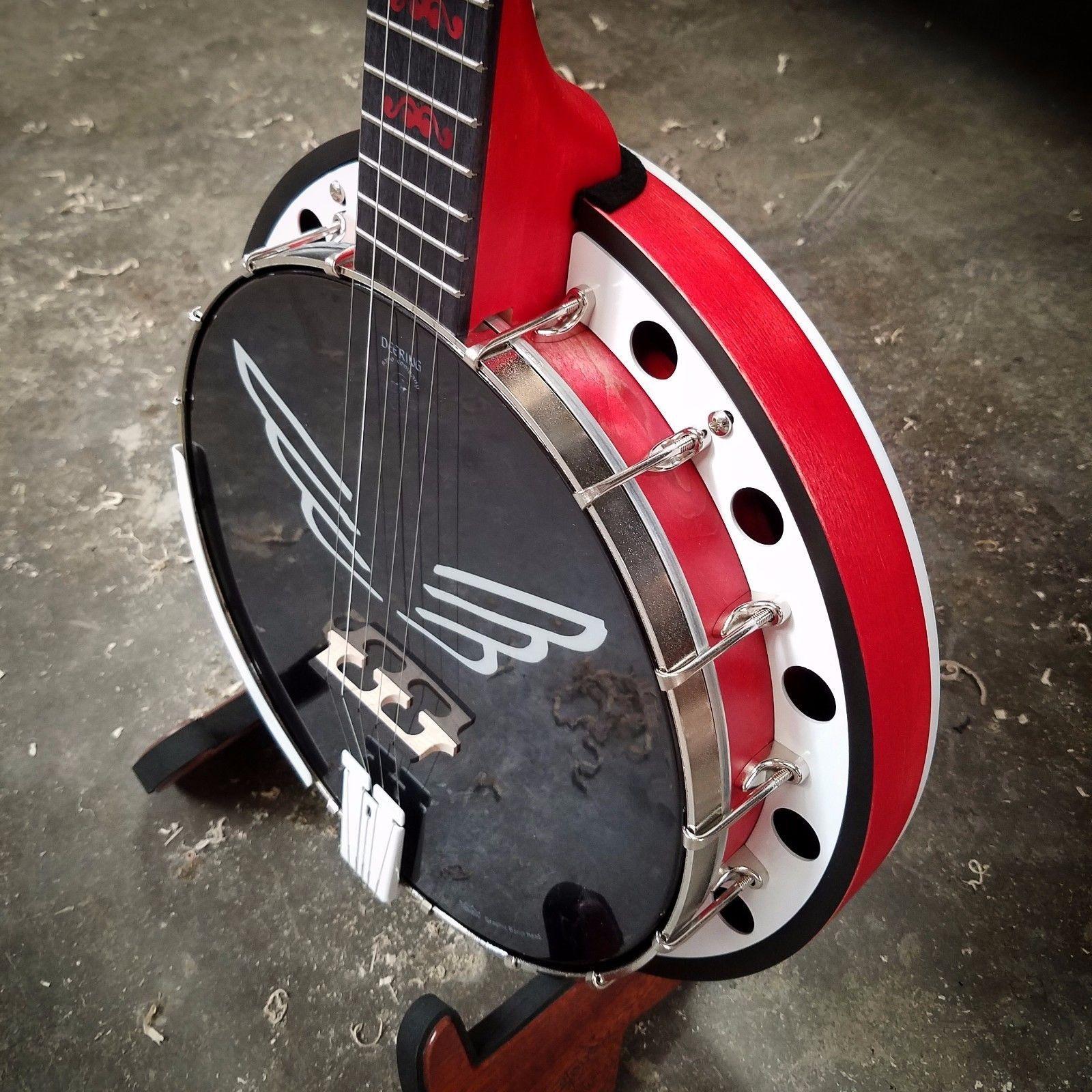 Mumford & Sons Signed Custom Deering Goodtime Banjo  CALIFORNIA! https://t.co/MBcE4NTUmt https://t.co/EwJh6L0uNt