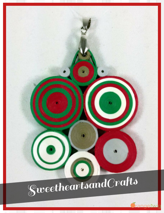 Happy Cinco de Mayo! #CincodeMayo #paper #quilling #pendant #necklace #quilled #ecofriendly #Mexico #Mexicanflag #Mexican #flag #jewelry #festive #paperjewelry #colorful #etsy #etsyshop #forsale #sweetheartsandcrafts https://www.etsy.com/shop/SweetheartsandCrafts?utm_source=Orangetwig