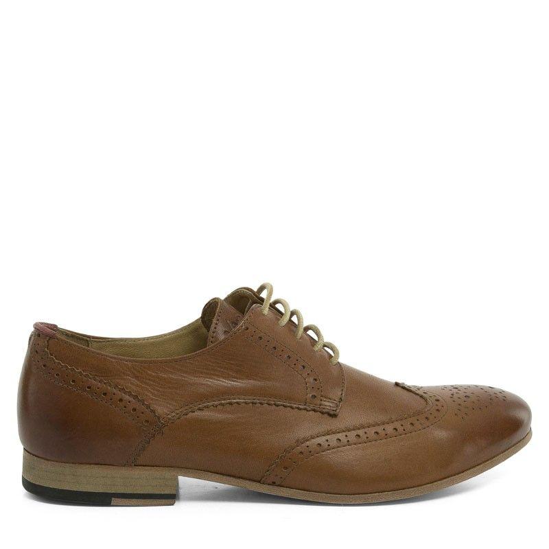 Van Gils Footwear Smith Leder - Cognac | yourStore24