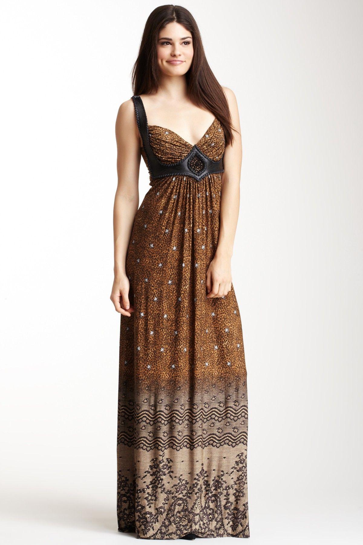 37c423c4a11 Sky Cheetah Print Maxi Dress  119.00  293.00 59% off