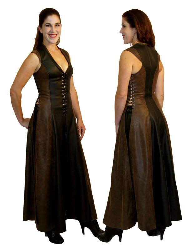 c297616624 Ravenswood Archers Leather Dress  599