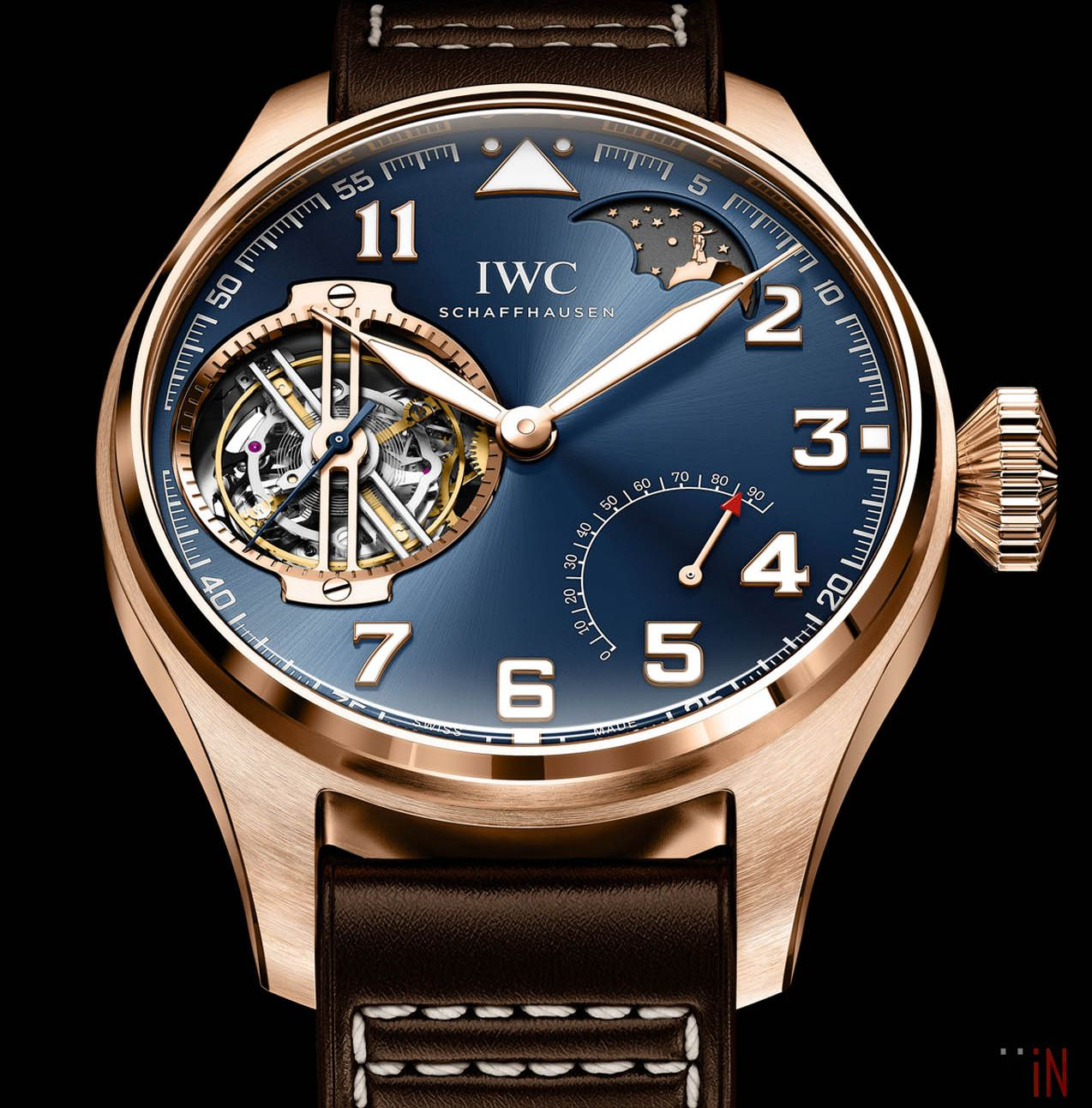 Iwc Big Pilot Constant Force Tourbillon Le Petit Prince Edition Best Watches For Men Luxury Watches For Men Watches For Men