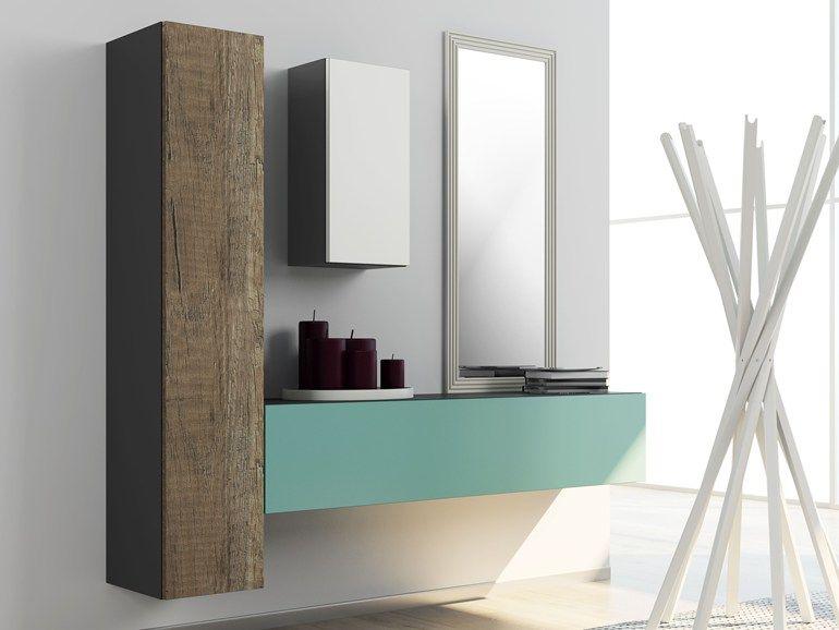 Ingressi mobili ~ Mobile da ingresso in laminato a parete dru2022Øne mobile da