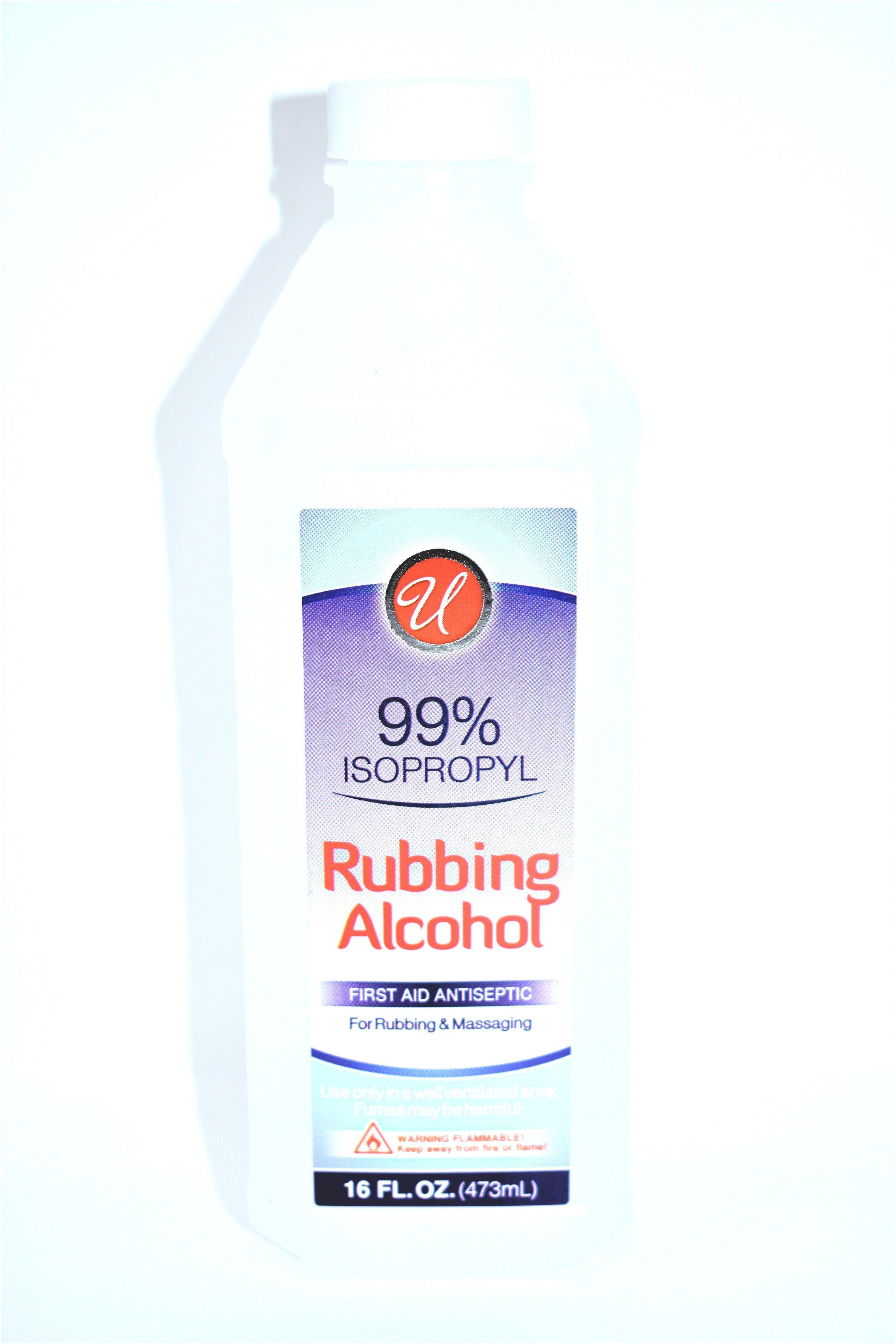 Universal 99% Isopropyl Rubbing Alcohol, 16 fl oz in 2019