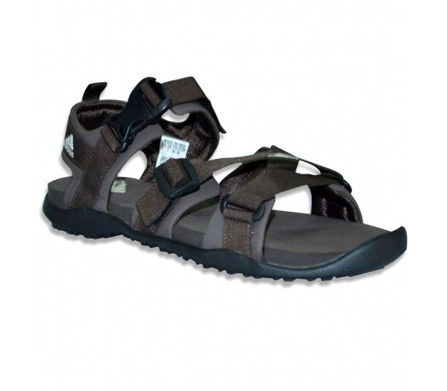 Big brand sale at 7% off! House of Adidas presents Gladi Brown Men Sandals