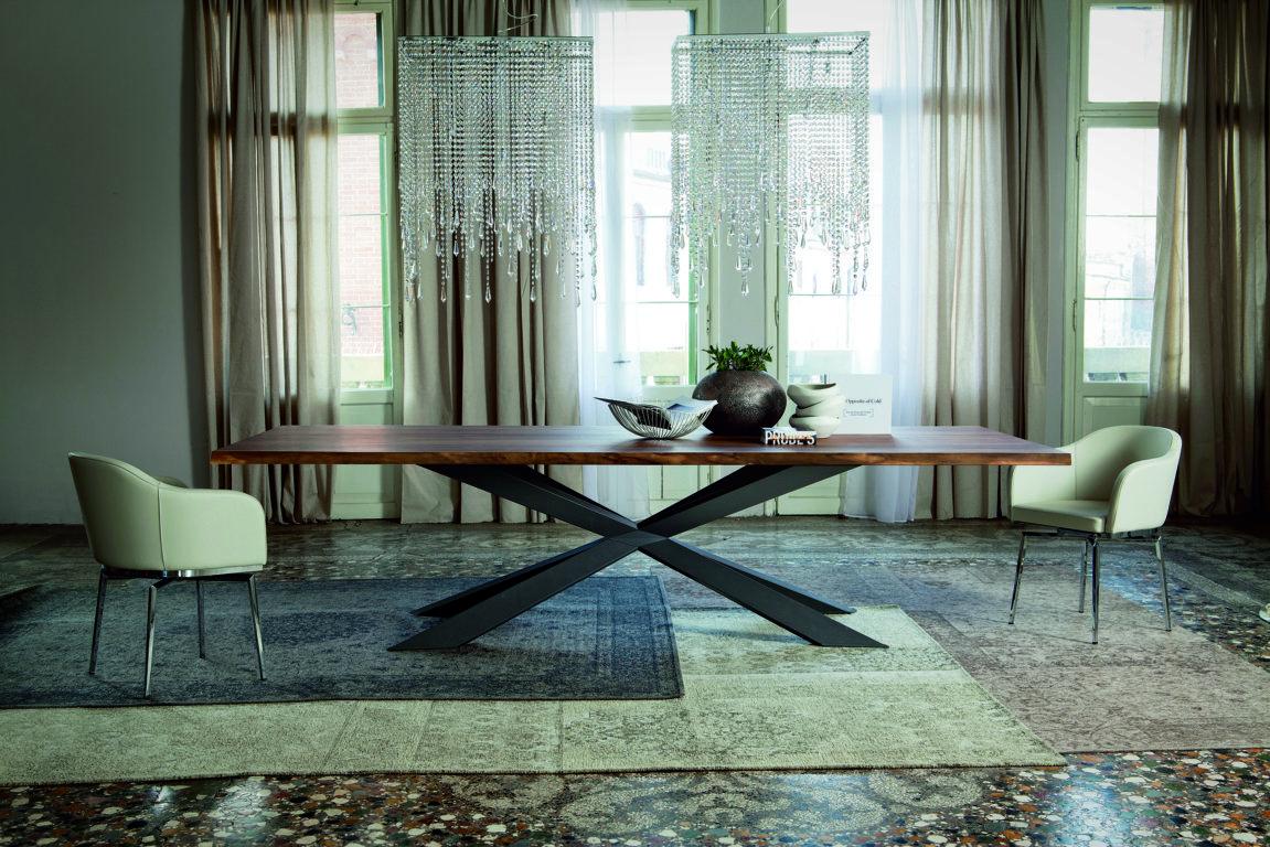 Spyder Tavolo ~ Il tavolo spyder wood disegnato da philip jackson per cattelan