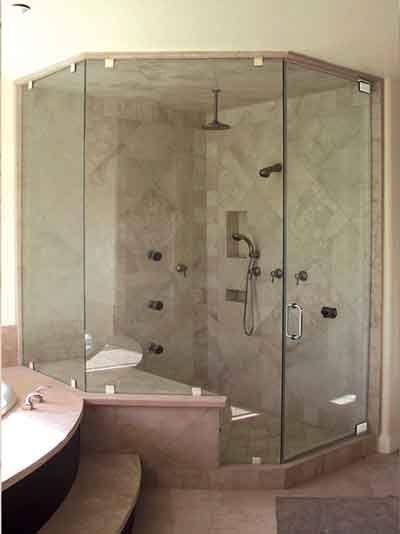 Southern California S Leading Shower Enclosure Manufacturer Frameless Shower Doors Sandblasted Glass Design Shower Enclosure