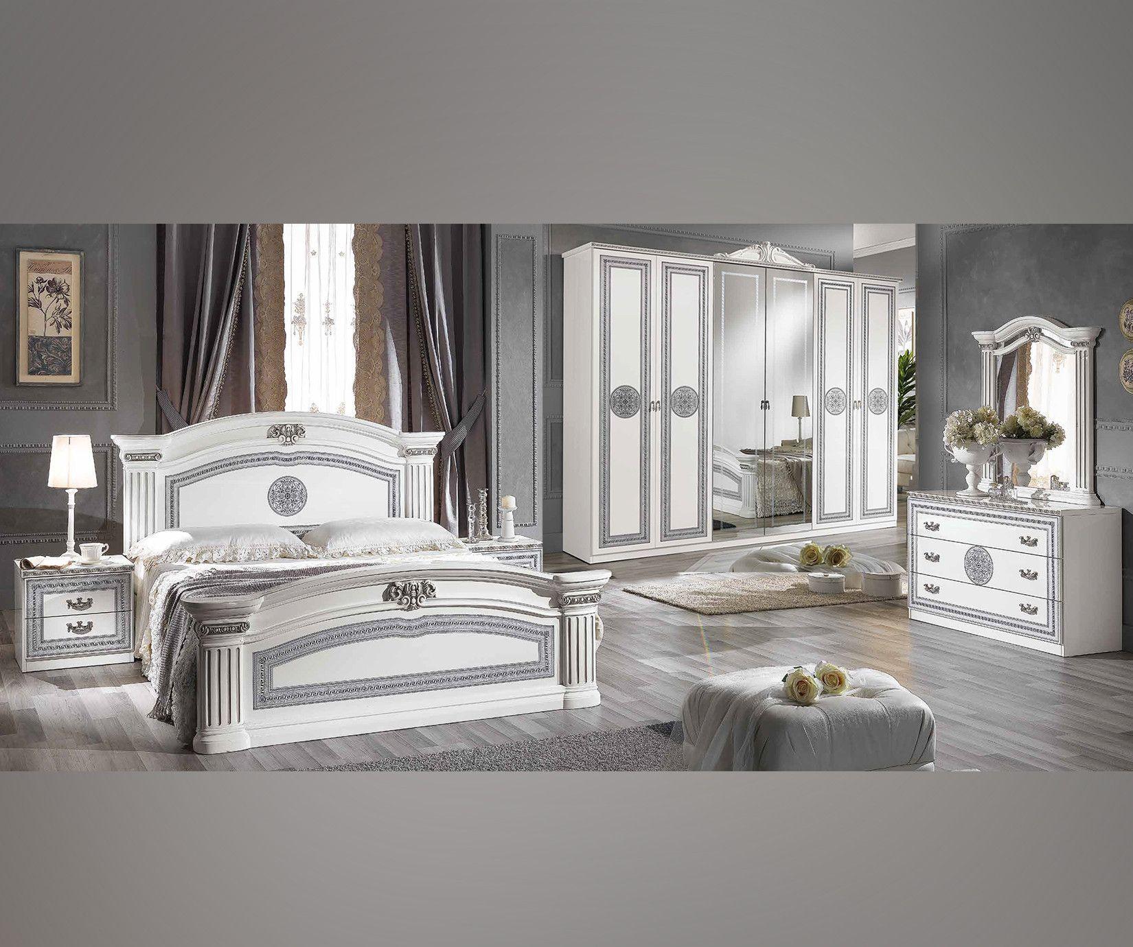 Elegantes Schlafzimmer Set Im Italienischen Stil Schlafzimmer Mobel Sets Italienisches Bett Italienisches Schlafzimmer Mobel Bett Home Decor Home Home Goods