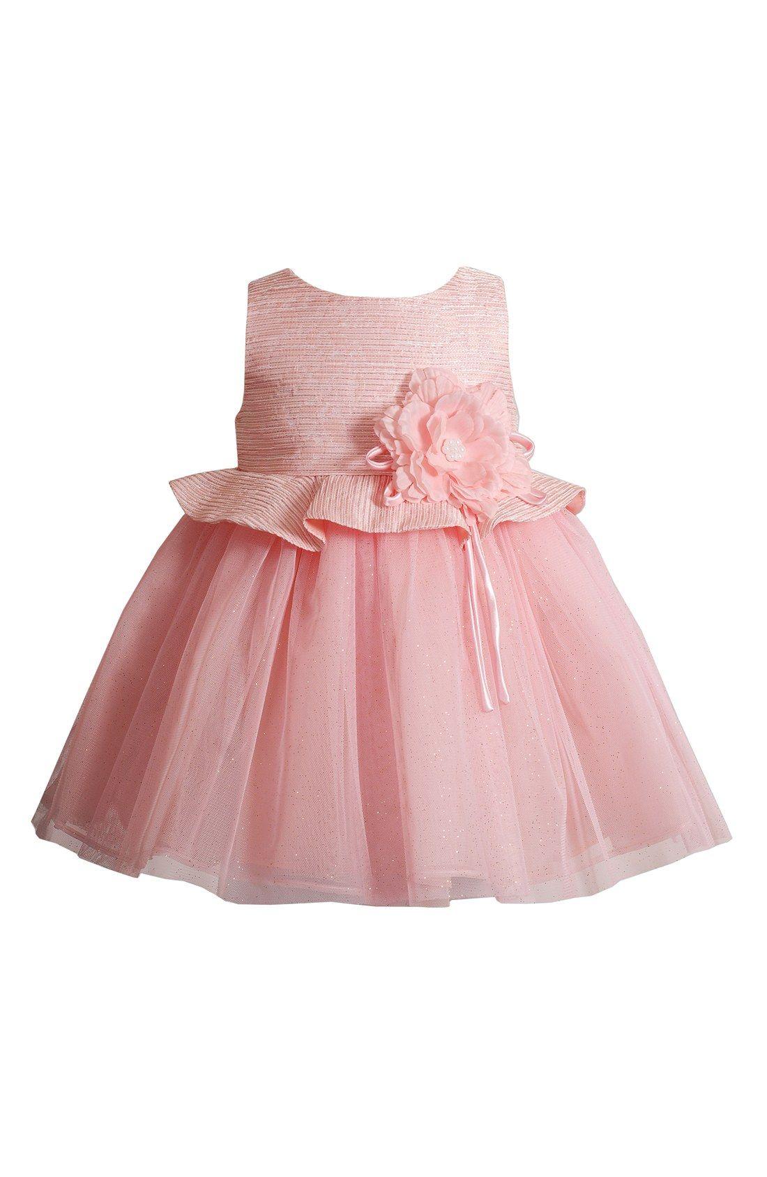 Kleinfeld Pink \'Julianna\' Sleeveless Dress (Baby Girls) | Clementine ...
