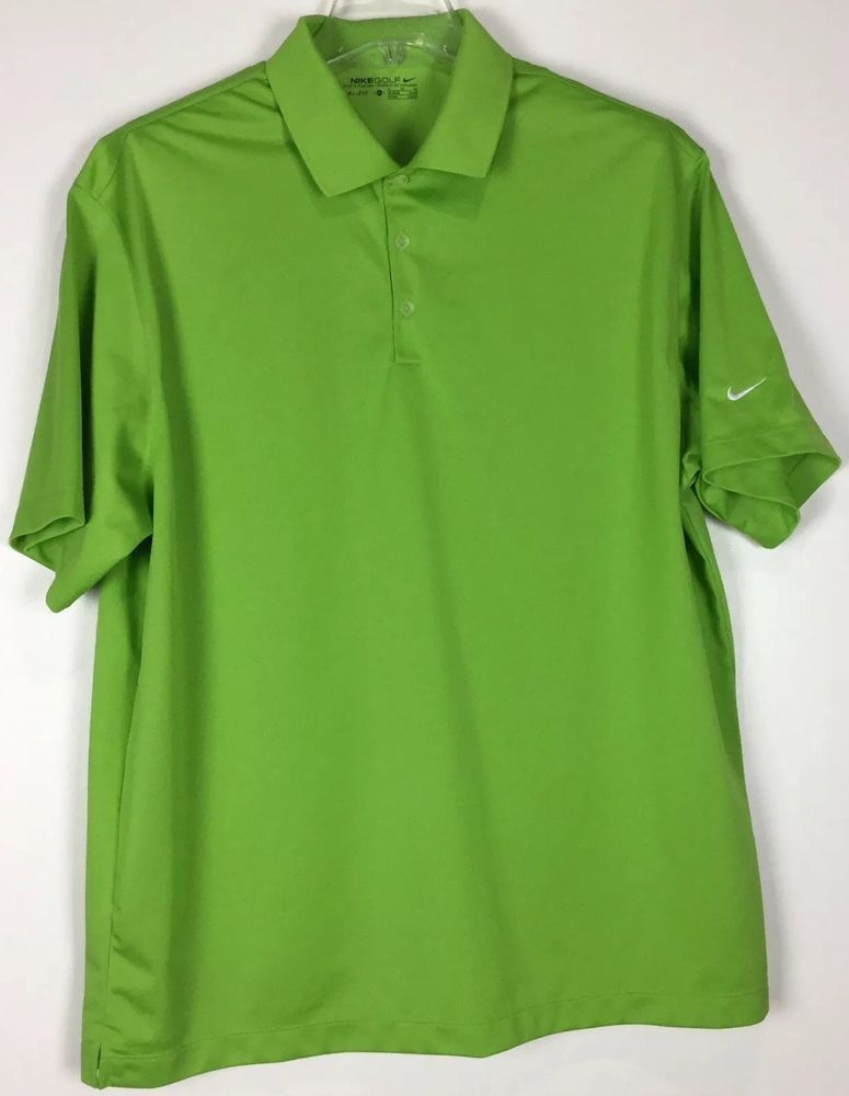 9bb0f4b78 mens nike golf polo shirt XL Dri Fit Short Sleeve polyester #fashion  #clothing #
