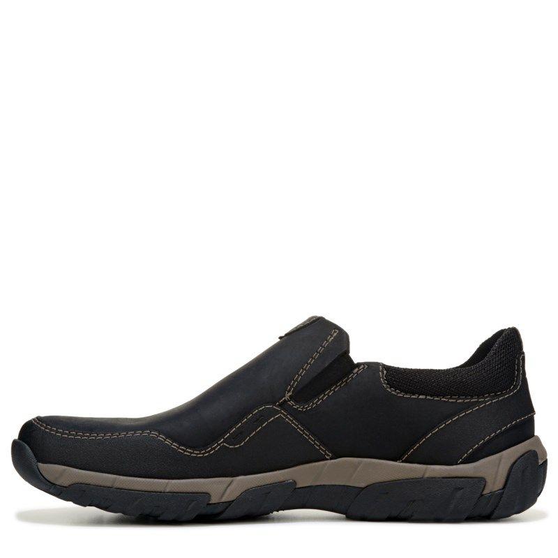 clarks men's waterproof slip on shoes