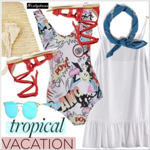 Welcome to Paradise: Tropical Vacation
