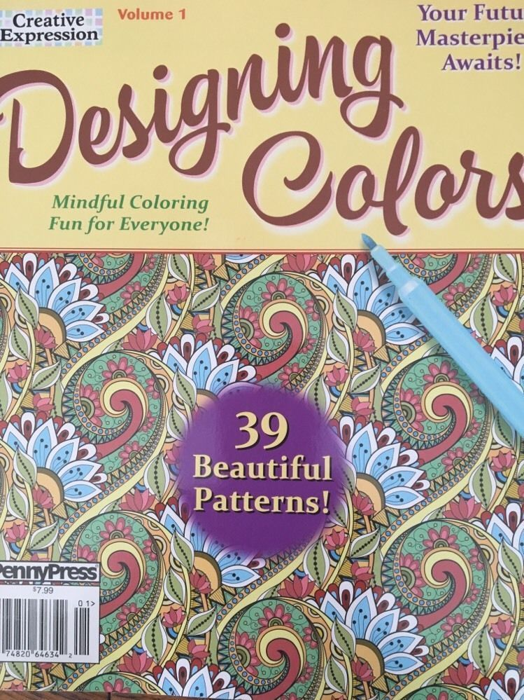 Details About Creative Expression Designing Colors Vol 1