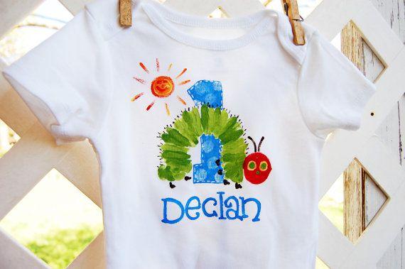 Personalized Birthday Onesie Or Toddler Shirt For By Rebekahcrisco 20 00 Personalized Birthday Birthday Shirts Toddler Shirt