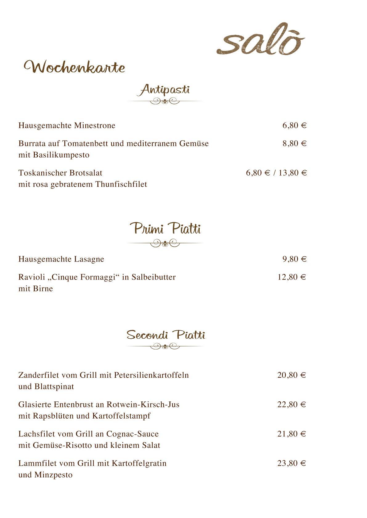 Unsere neue Wochenkarte!   Salo Restaurant & Pizzeria  www.salomuenchen.de #salo #restaurant #pizzeria #muenchen #munich #pizza #steinofen #schwabing #wochenkarte #pizzatag #lieferservice #pasta