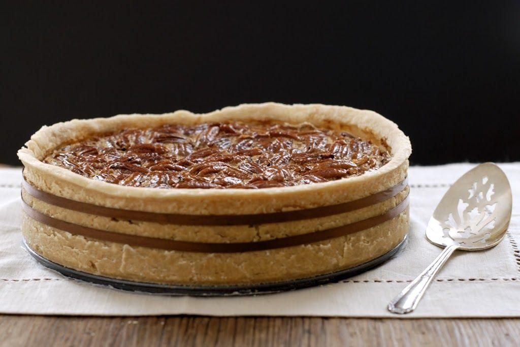 of my favorite pies ever... gluten-free deep-dish bourbon pecan pie.  - Desserts -one of my favorit