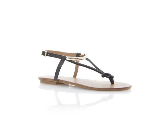 38dc7ea71b0 DUNE LADIES JASYZ - Gold T-Bar Toe Post Sandal by Dune London  dunelondon   duneshoes  sandals  black  flat  gold  summer  style  holiday