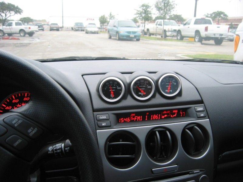 2003 2007 Mazda 6 Triple 2 1 16 Dash Vent Mount Gauge Pod Holder Trim Ebay Mazda 6 Mazda Mazdaspeed 6