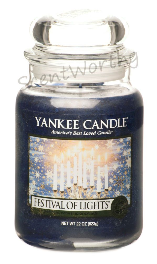 Yankee Candles Festival of Lights Large Jar Candle,Fresh Scent