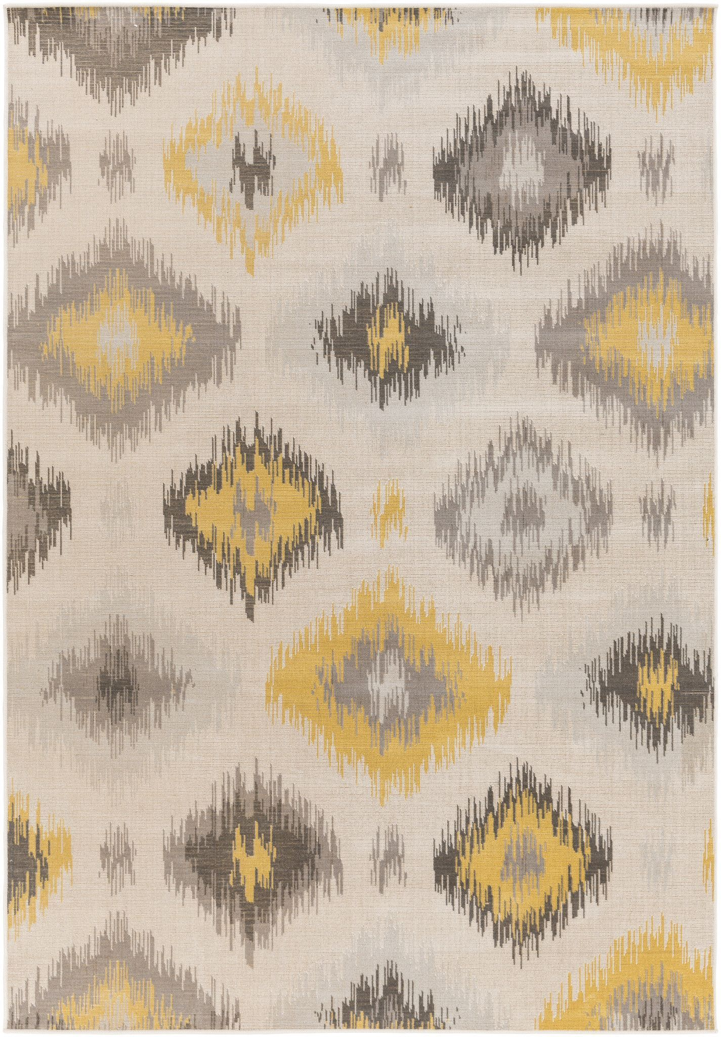 Surya MAV7009 Mavrick Yellow Rectangle Area Rug