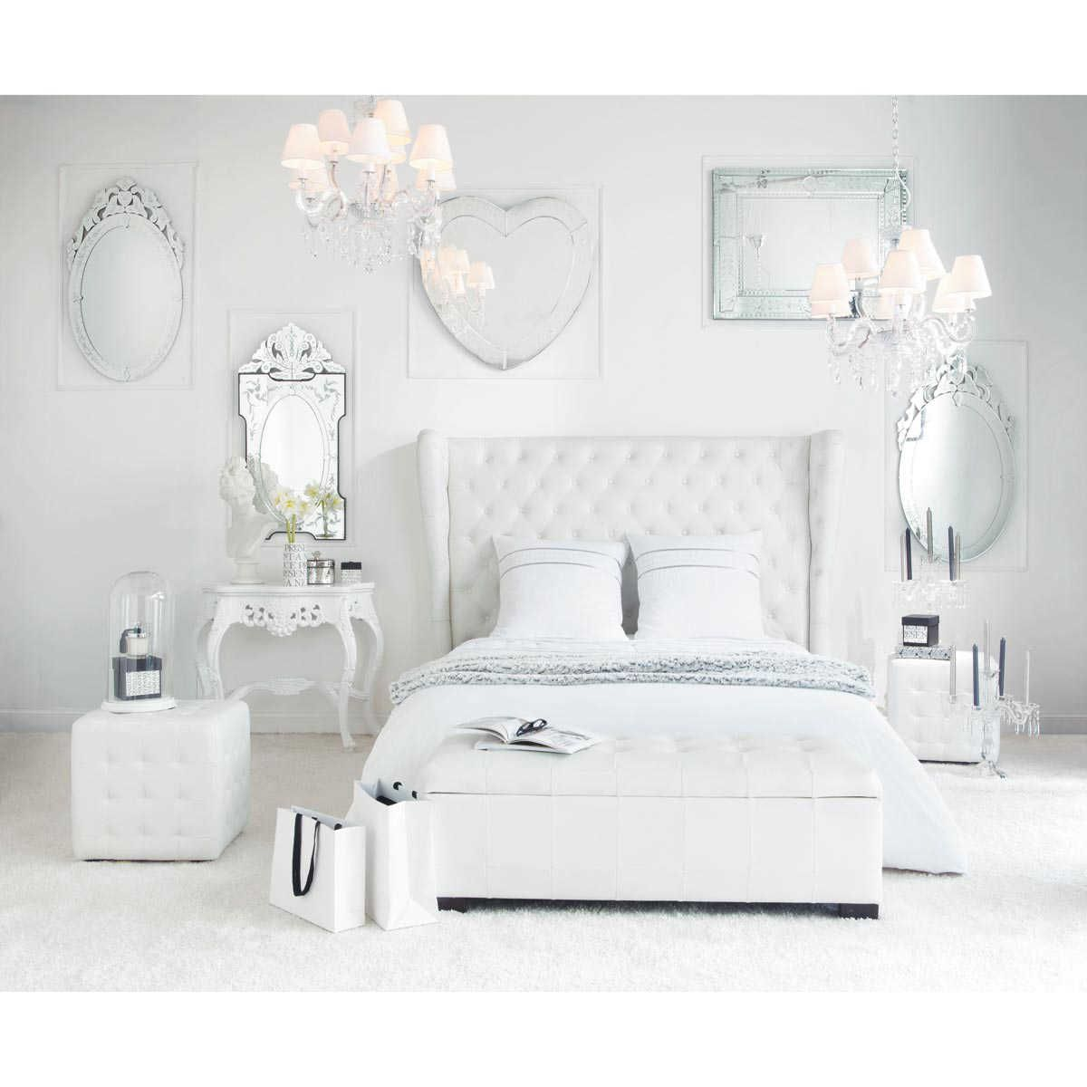 miroir en verre h 90 cm v nitien maisons du monde chambre pinterest miroirs en verre. Black Bedroom Furniture Sets. Home Design Ideas