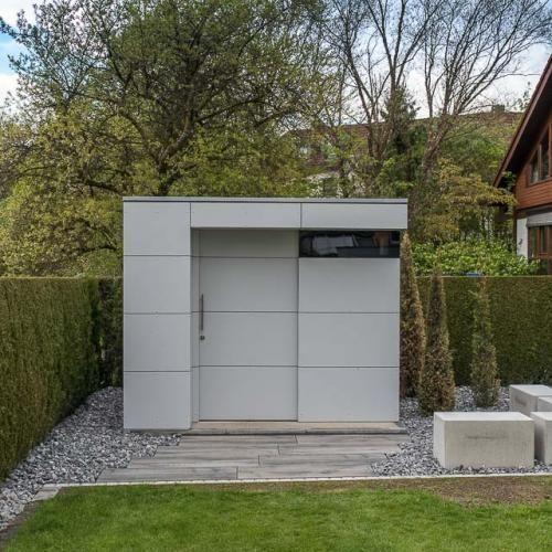 Design Gartenhaus wetterfest, pflegeleicht