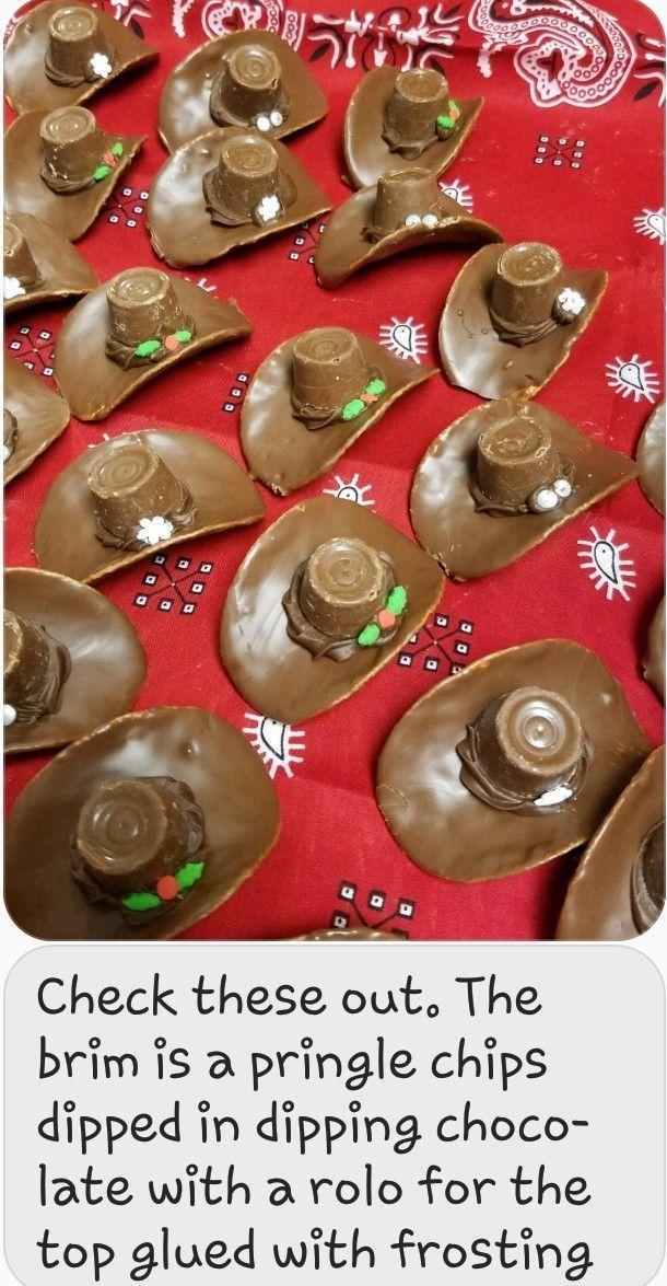 Pringle Rolo cowboy hats
